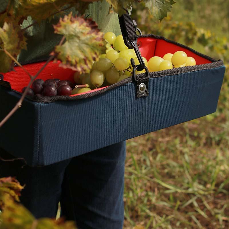 Caixa Coletora de Pequenos Frutos - Vermelha