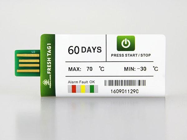 Datalogger / Registrador de Temperatura Fresh Tag1