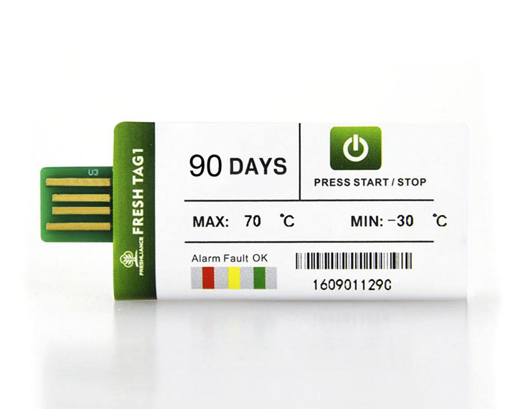Datalogger / Termógrafo / Registrador de Temperatura Fresh Tag 1