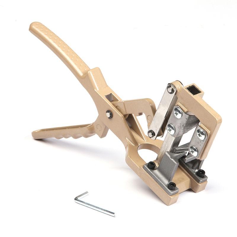 Máquina de enxertia manual em cunha