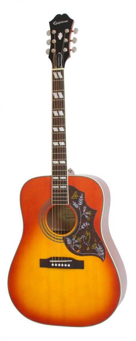 Violão Epiphone Hummingbird PRO - Faded Cherry