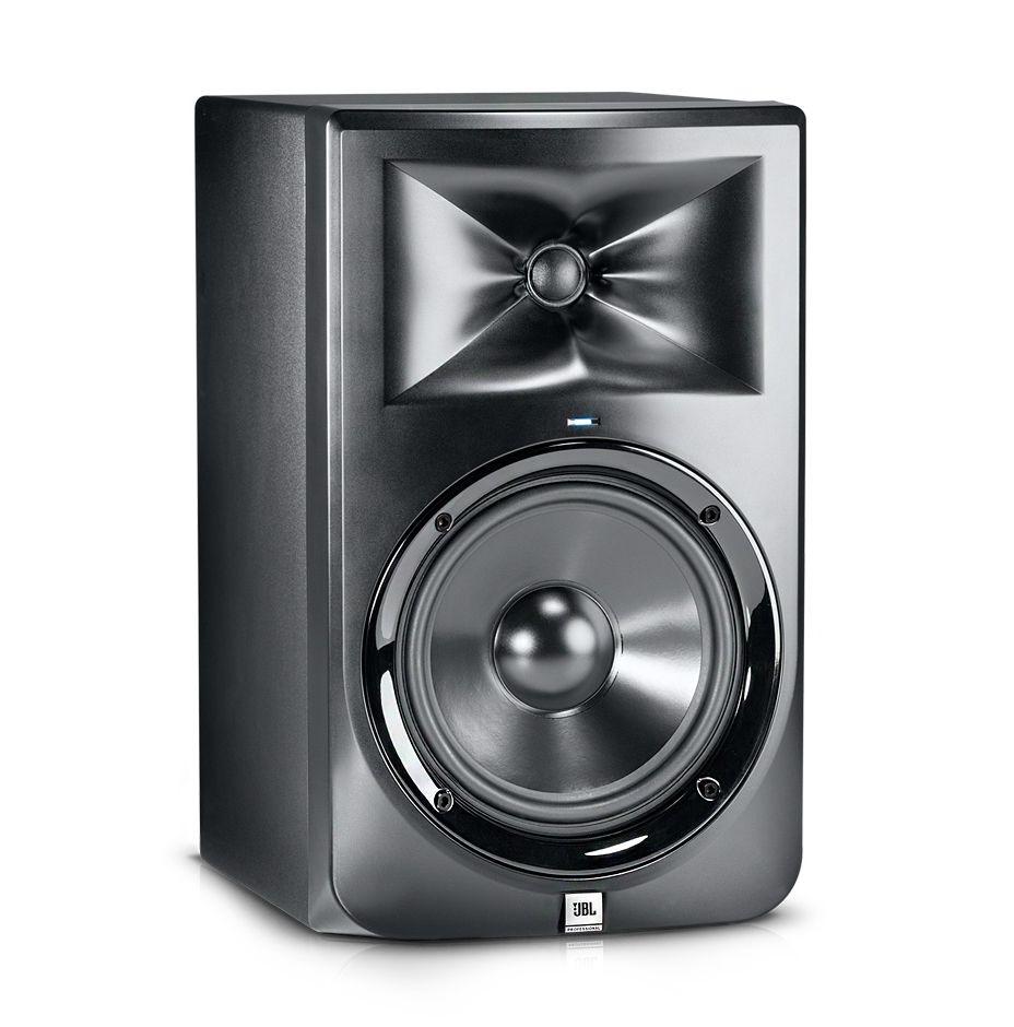 Caixa JBL monitor Bi-Amplificada LSR308