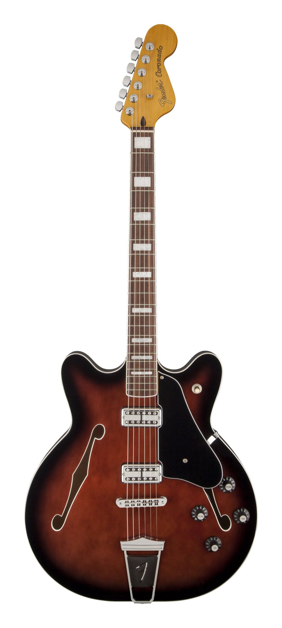 Fender Modern Player Coronado - Black Cherry Burst