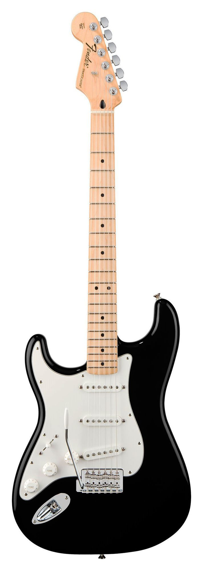 Fender Stratocaster Mex Left Hand Series - Black