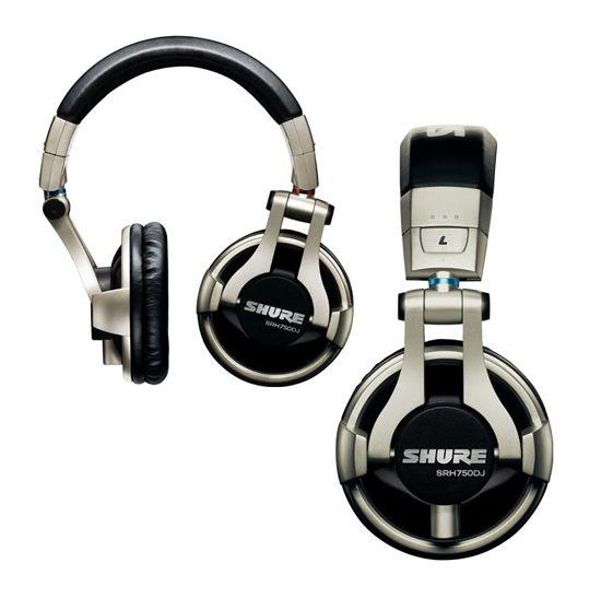 Fone Shure SRH750 DJ