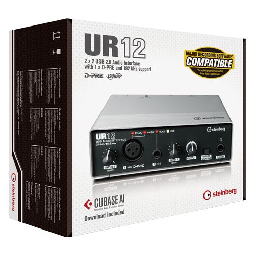 Interface de Áudio Steinberg UR12 Portatil