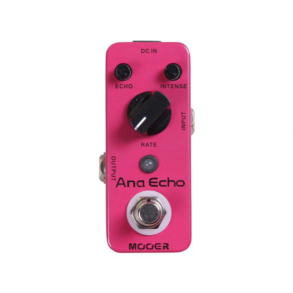 Pedal Mooer Ana Echo Analog Delay