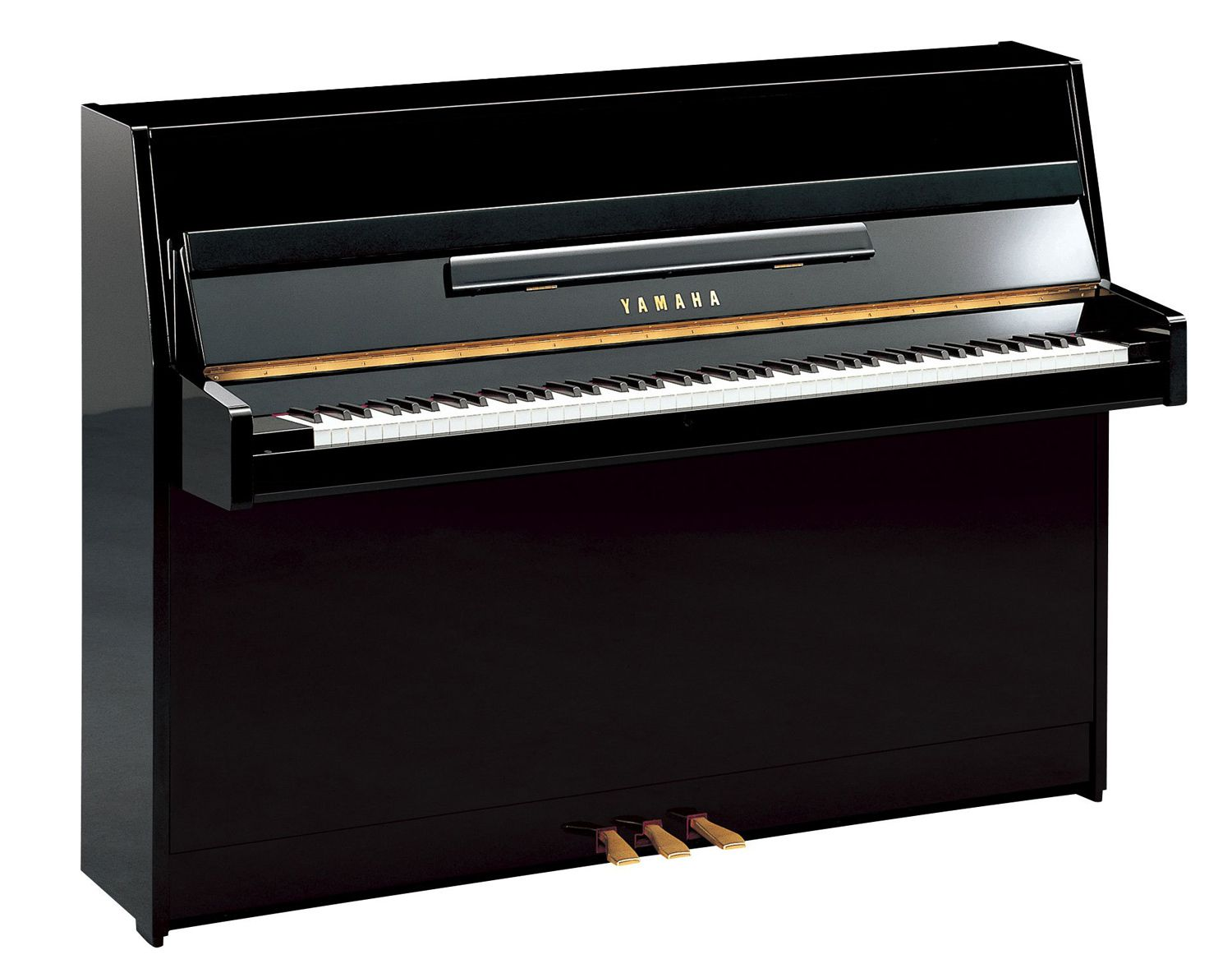 Piano Vertical Yamaha JU109 - Polished Ebony