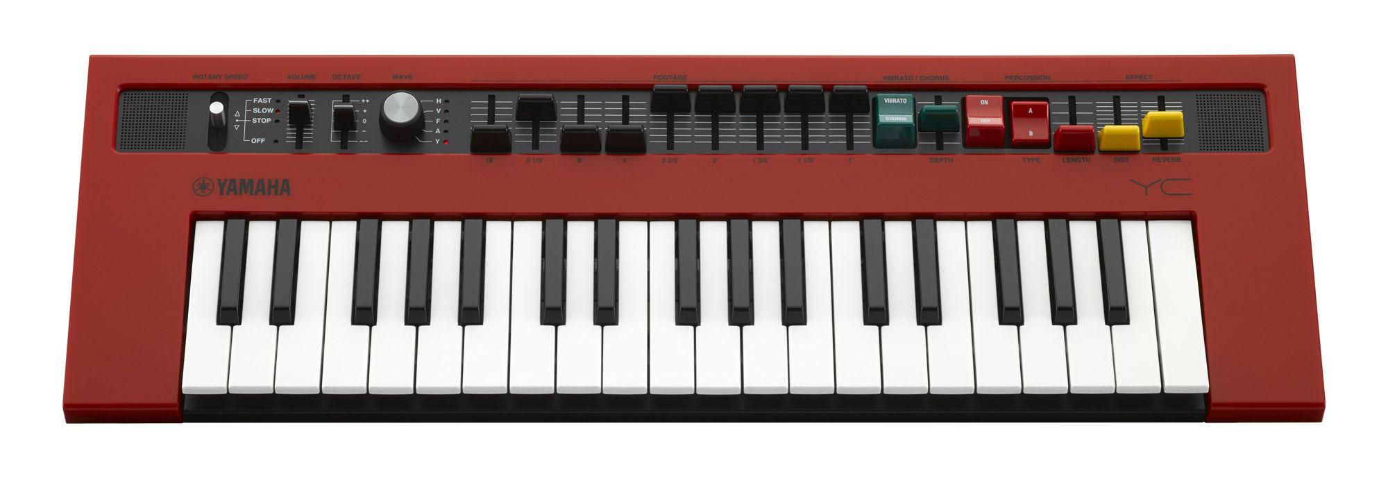 Sintetizador Analógico Yamaha Reface YC - Emulador Órgão