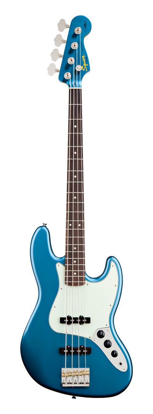 Squier Signature James Johnston Jazz Bass - Lake Placid Blue