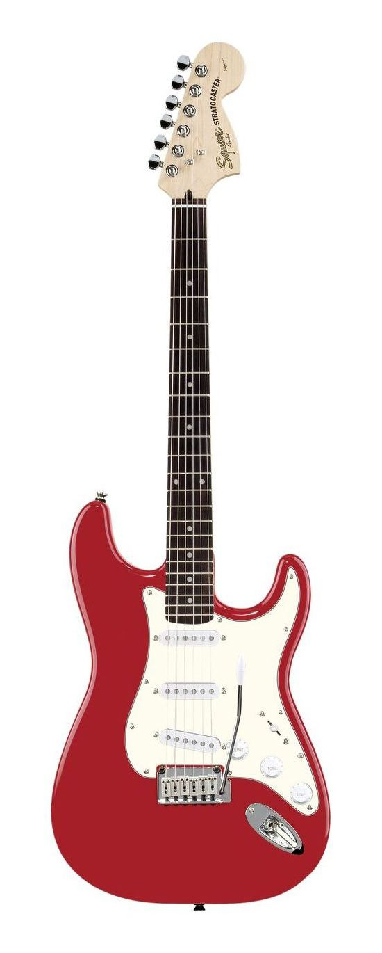 Squier Standard Stratocaster - Candy Apple Red