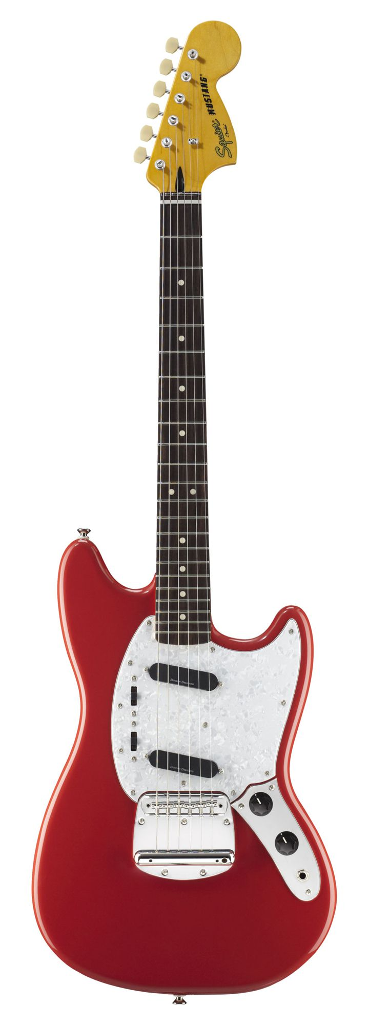 Squier Vintage Modified Mustang - Fiesta Red