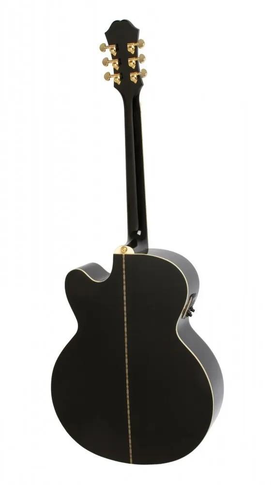 Violão Epiphone EJ-200 SCE Gold - Black