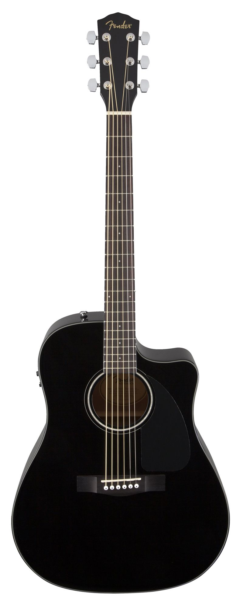 Violão Fender Dreadnought CD-60 CE c/ Case - Black