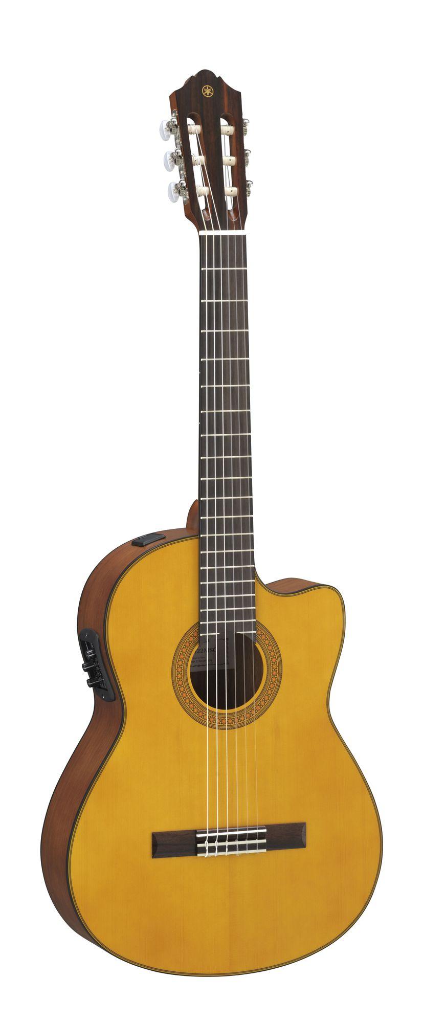 Violão Yamaha CGX122MSC - Natural