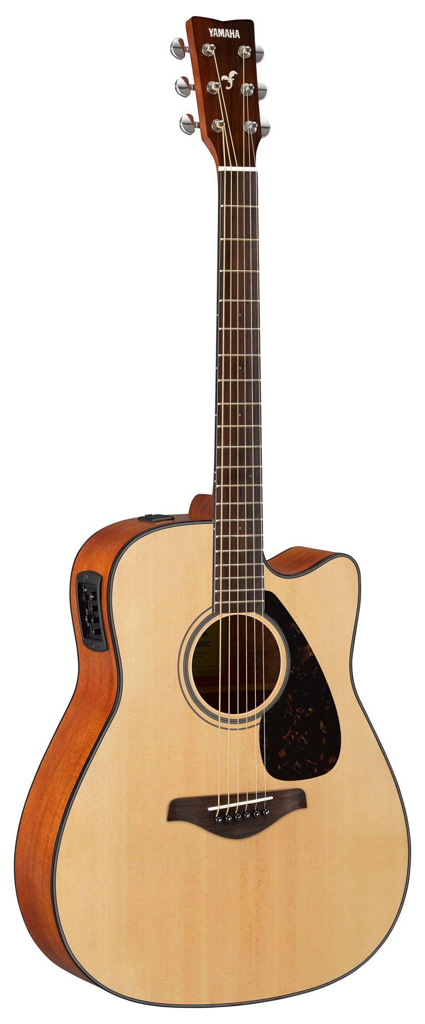 Violão Yamaha FGX800C - Natural