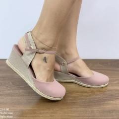 Sandália Anabela Rose | D-214-90