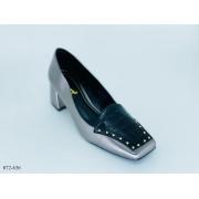 Scarpin Cinza Metalizado | D-072-636