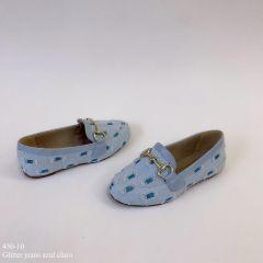 Mocassim mamãe & filha  Jeans Azul Claro | D-450-10
