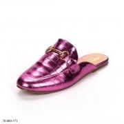 Mule Mocassim Pink Metalizado | D-70.000-571