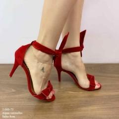 Sandália Vermelho Laço Hortênsia | D-3.000-73