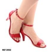 Sandália Vermelha Salto Fino | D-2052