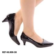 Sapato Scarpin Preto | D-48.000-38