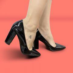Sapato Scarpin Preto Verniz | D-100.000-39