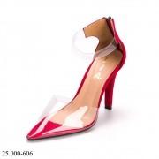 Scarpin Acrilico Vermelho  | 25.000-606