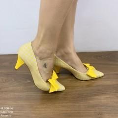 Scarpin Amarelo com Laço | D-44.000-96