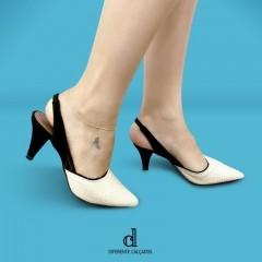 Scarpin Chanel Off White | D-44.000-23