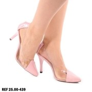 Scarpin Feminino Vinil Rose | D-25.000-439