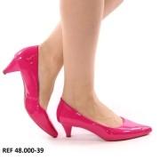 Scarpin Pink Parati Salto Baixo | D-48.000-39