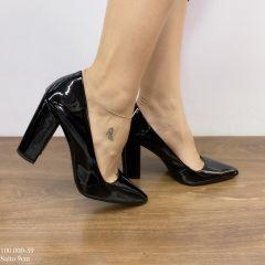 dacf60859 Sapato Scarpin Preto Verniz | D-100.000-39