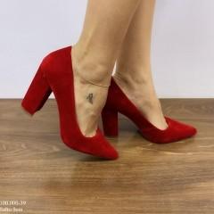 Sapato Scarpin Vermelho | D-100.000-39