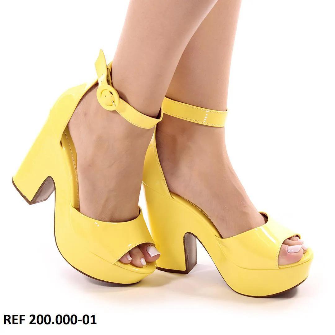 Anabela Amarelo Verniz   D-200.001