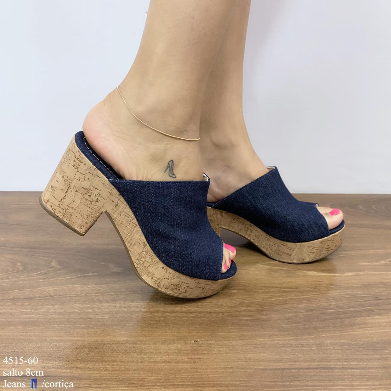 Tamanco Jeans | D-4515-60