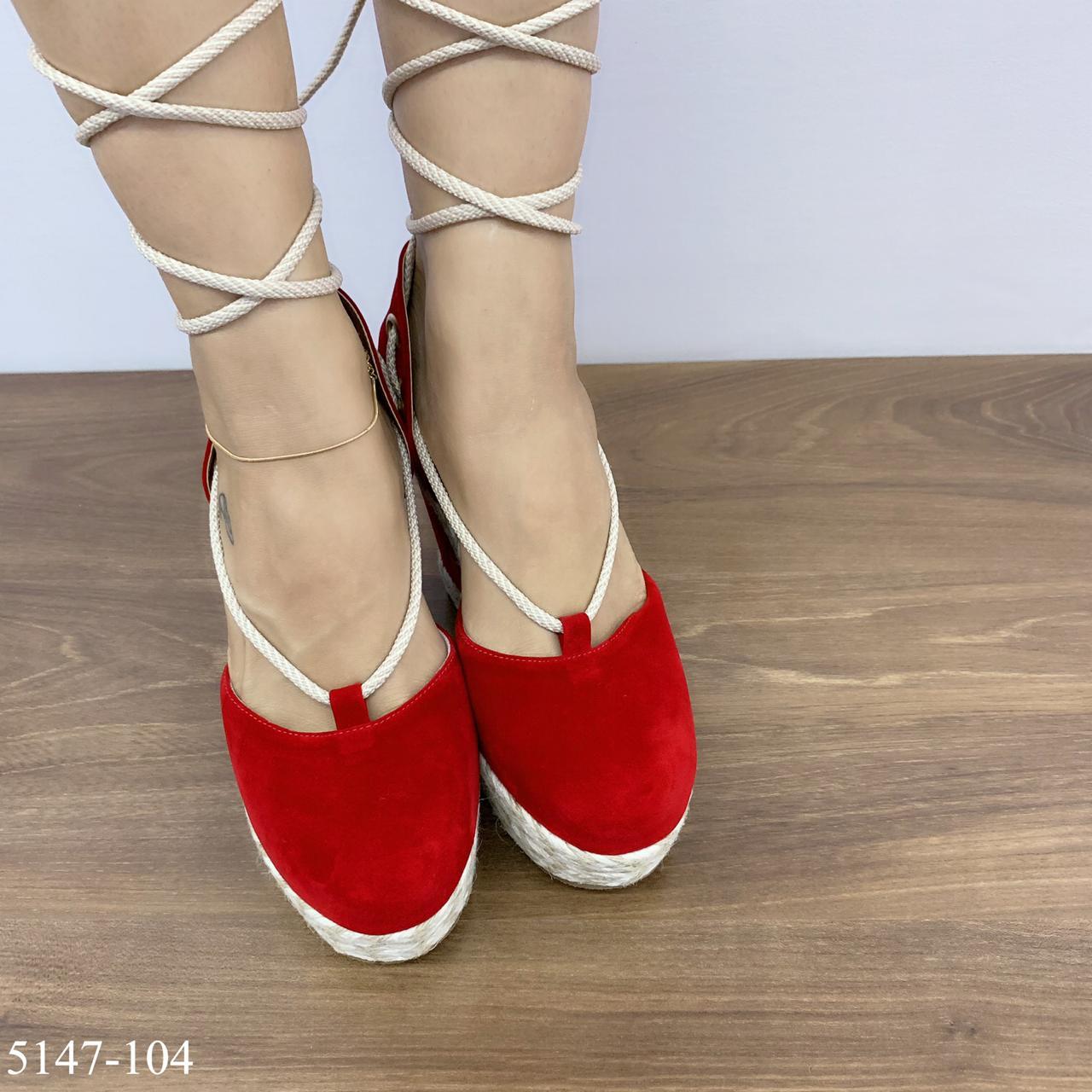 Gladiadora Anabela Vermelha | D- 5147-104