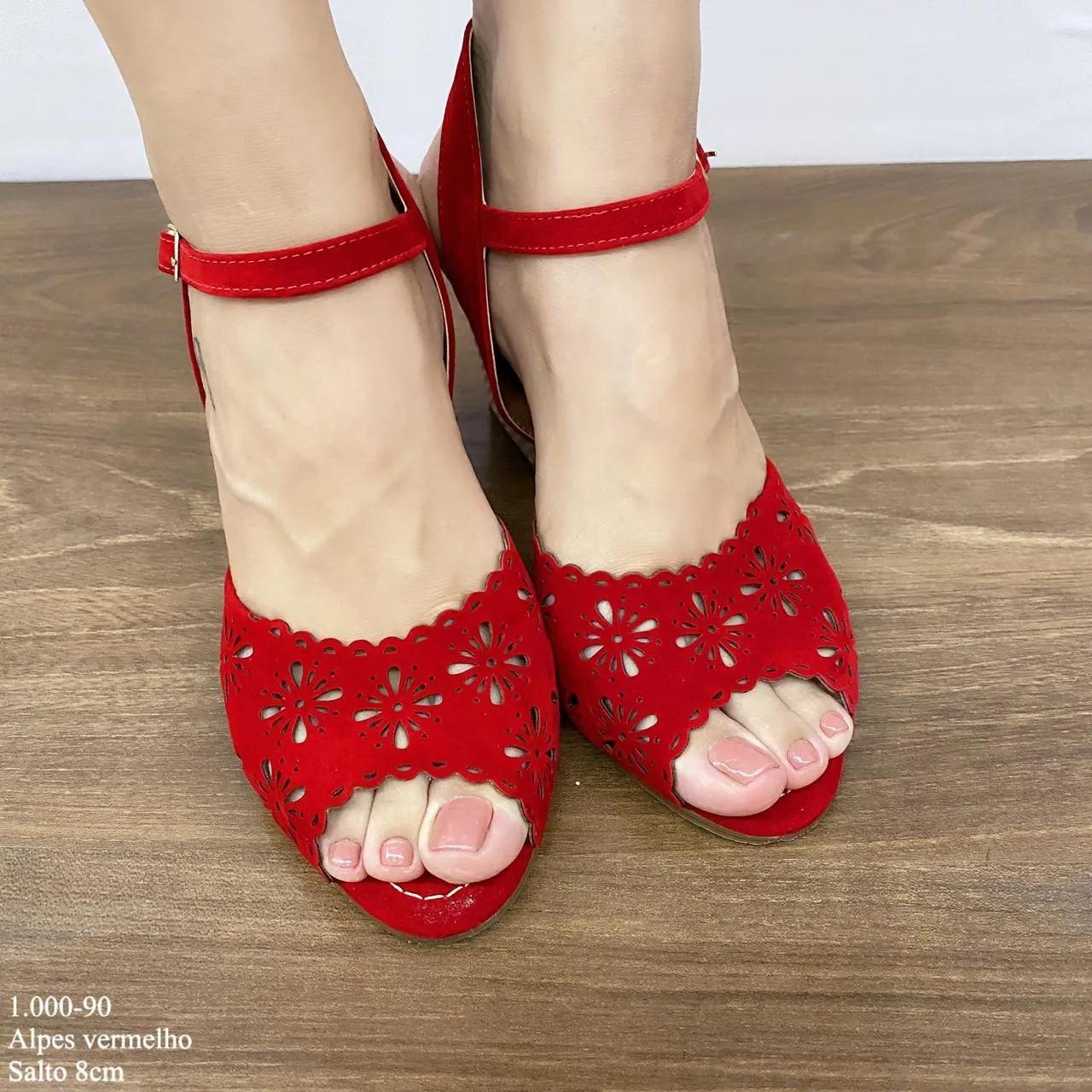 Anabela Vermelha | D-1.000-90