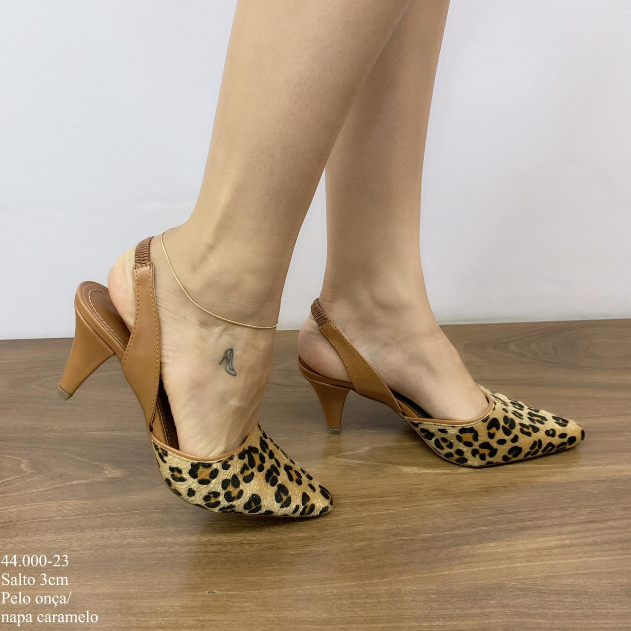 Scarpin Chanel Onça | D-44.000-23