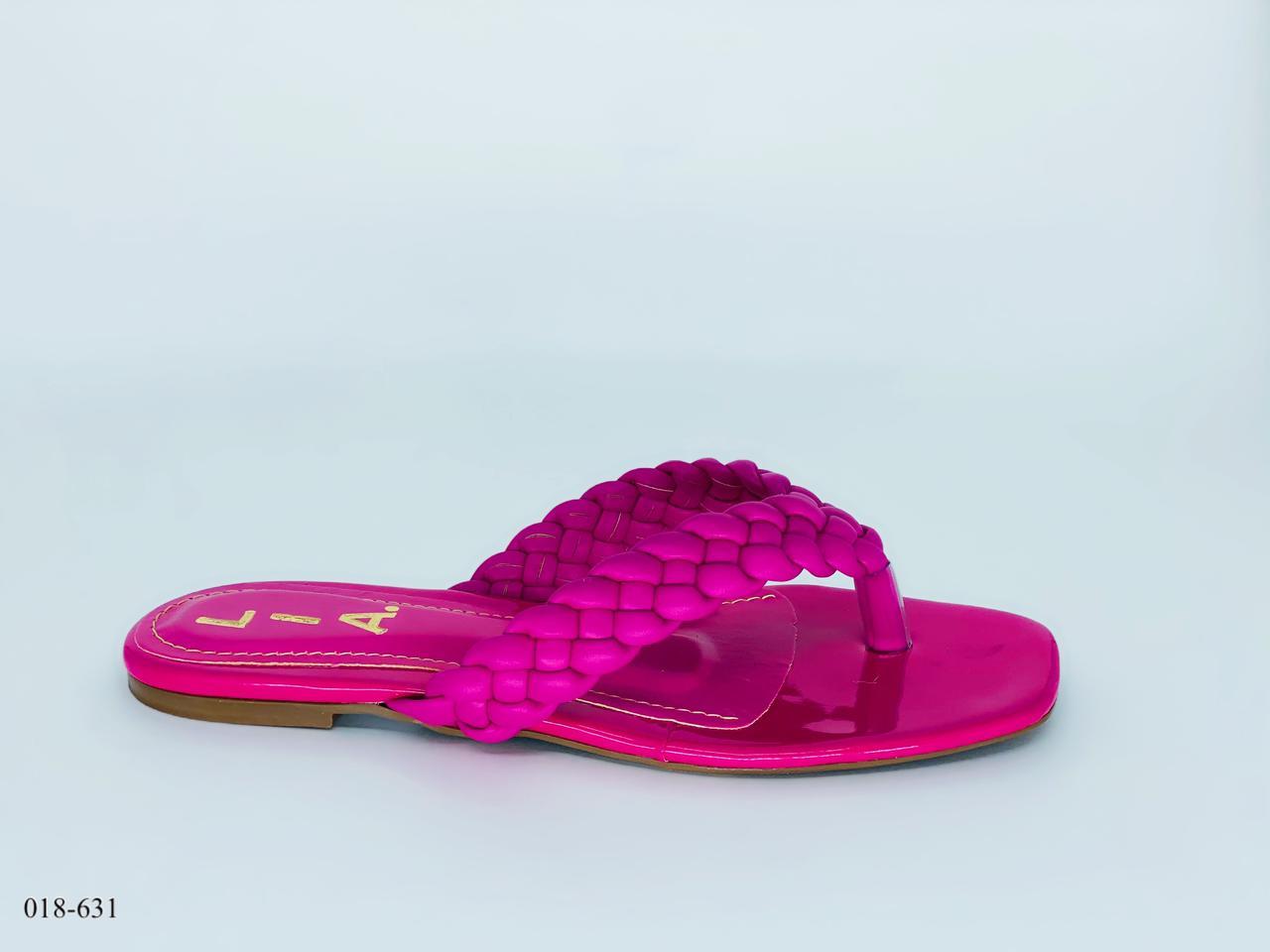 Chinelo Rasteirinha de Dedo Pink | D -018-631