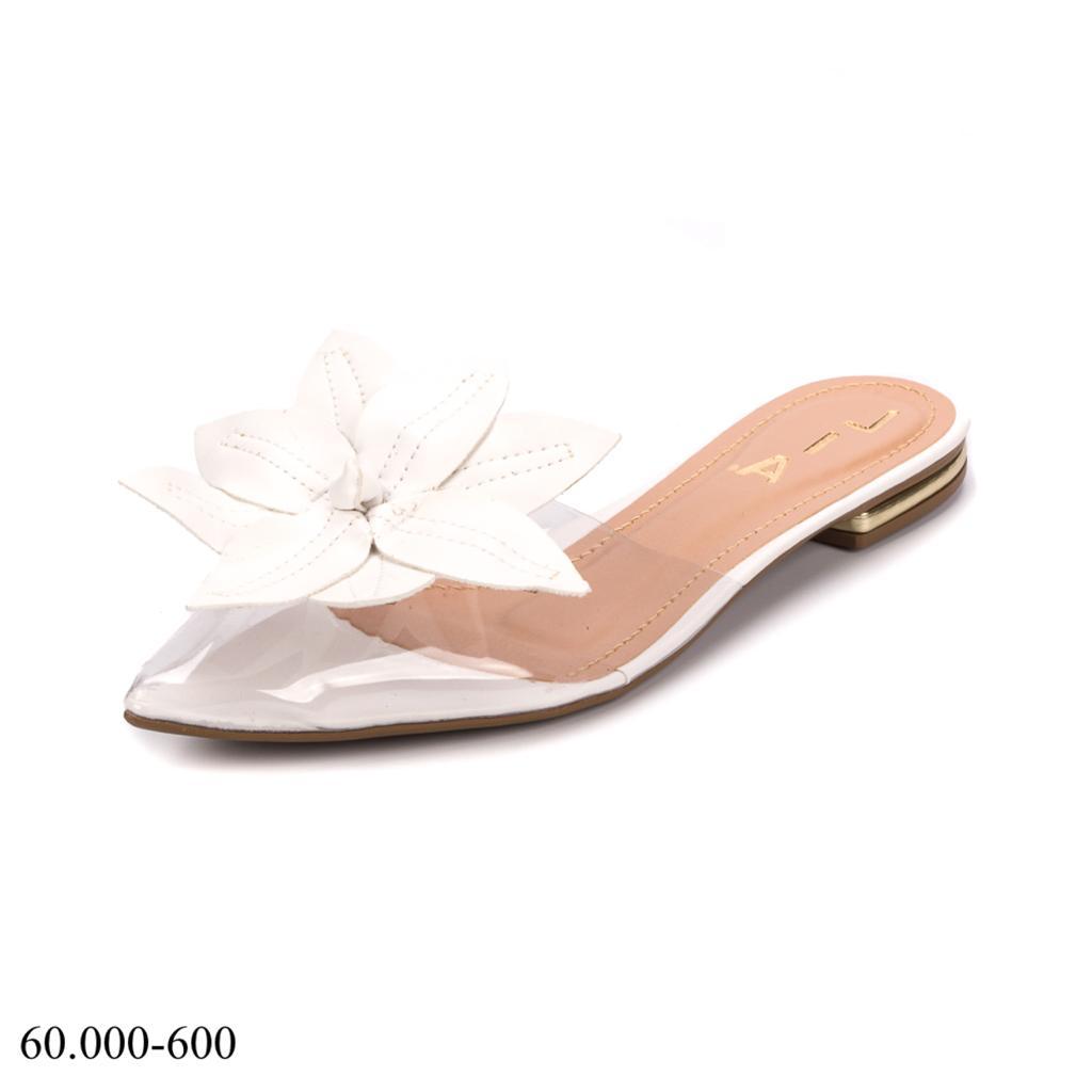 Rasteirinha Acrílico Floral | D-60.000-600