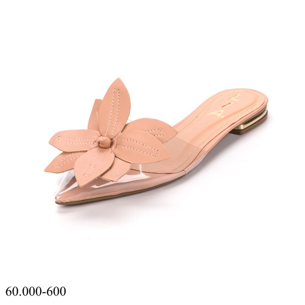 Mule Nude Floral | D-60.000-600
