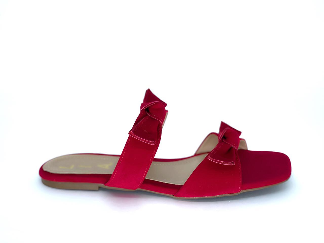 Chinelo Rasteirinha Vermelho | D-018-630