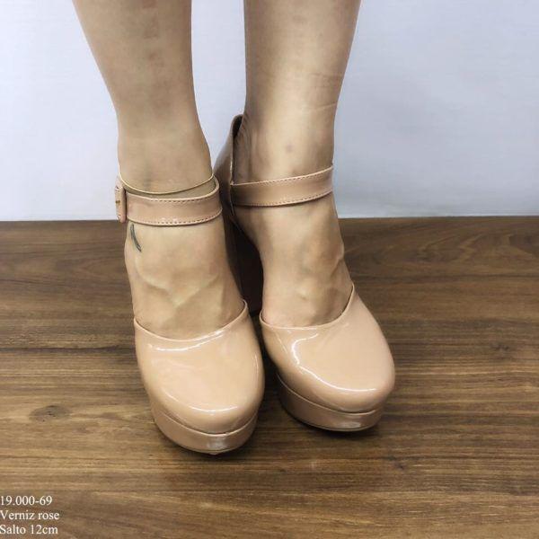 Sapato Meia Pata Rose Kalanchoê | D-19.000-69