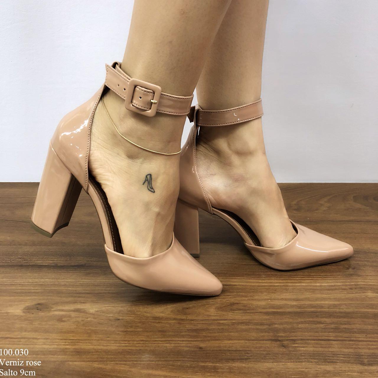 Sapato Scarpin Rose | D-100.030