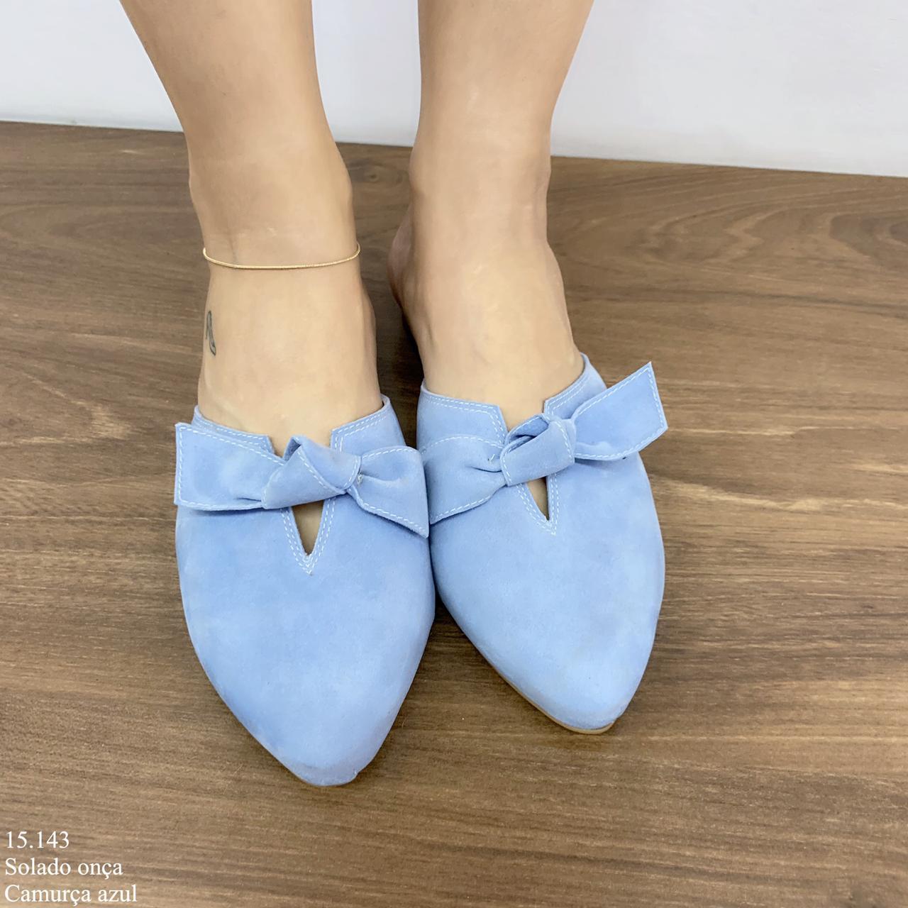 Mule Azul Claro | D-15.143