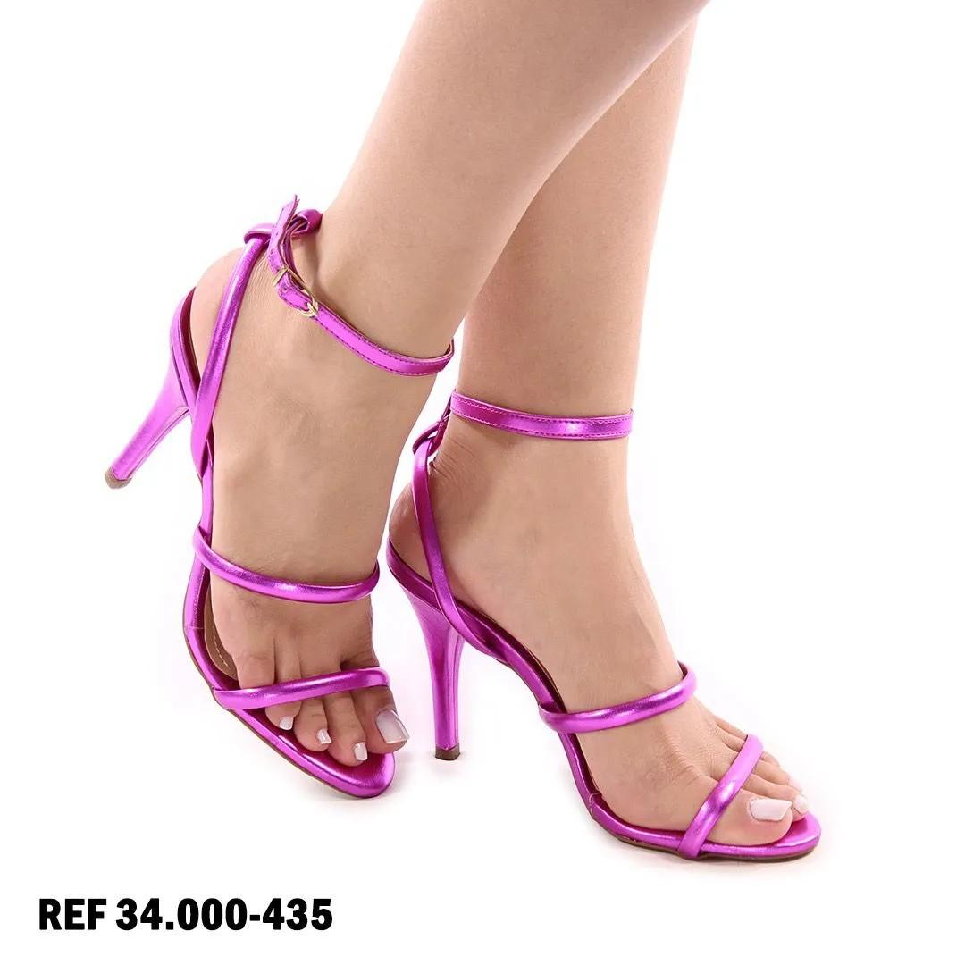 Sandália Pink Metalizada | D-3.000-445