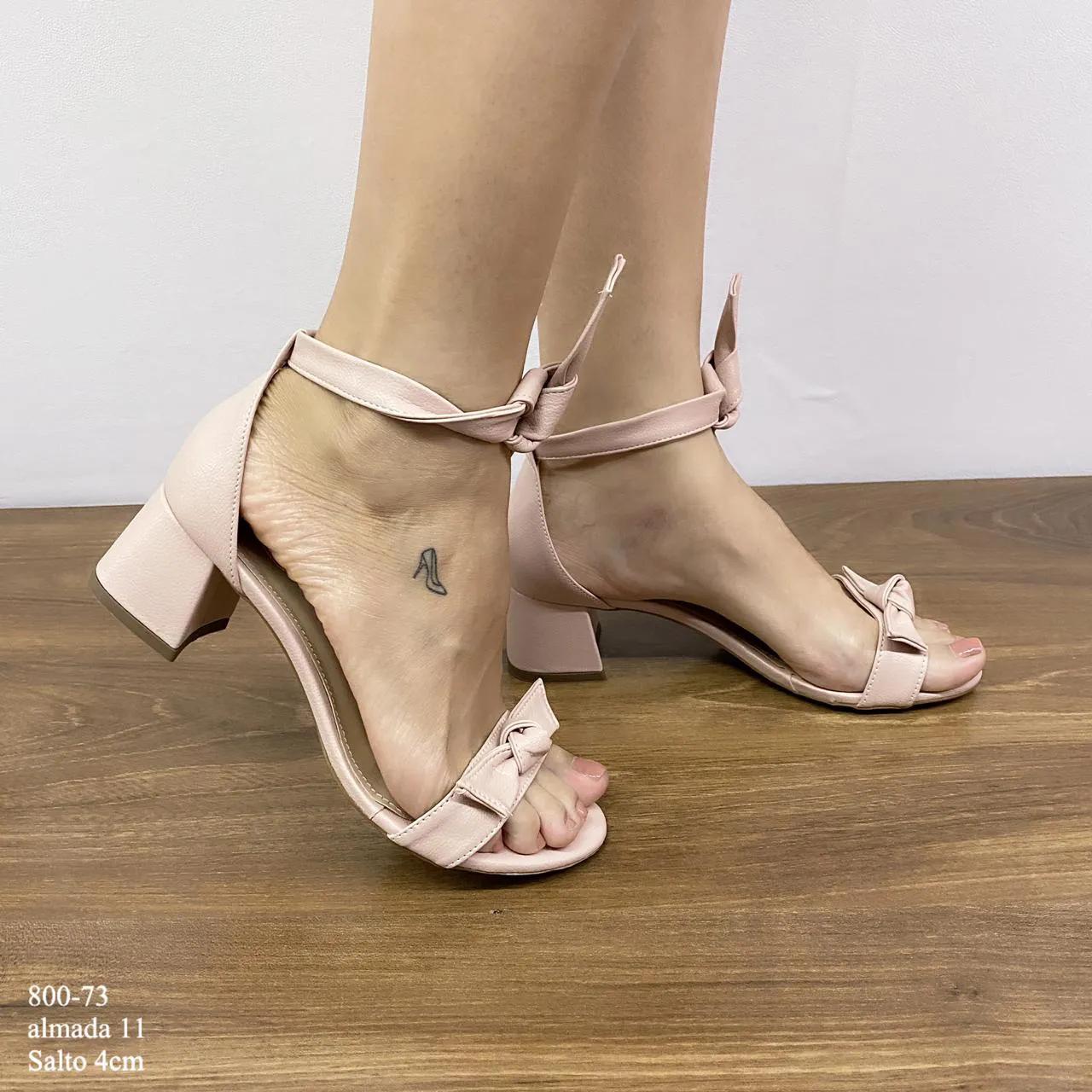 Sandália Almada 11 Com  Lacinho | D-800-73