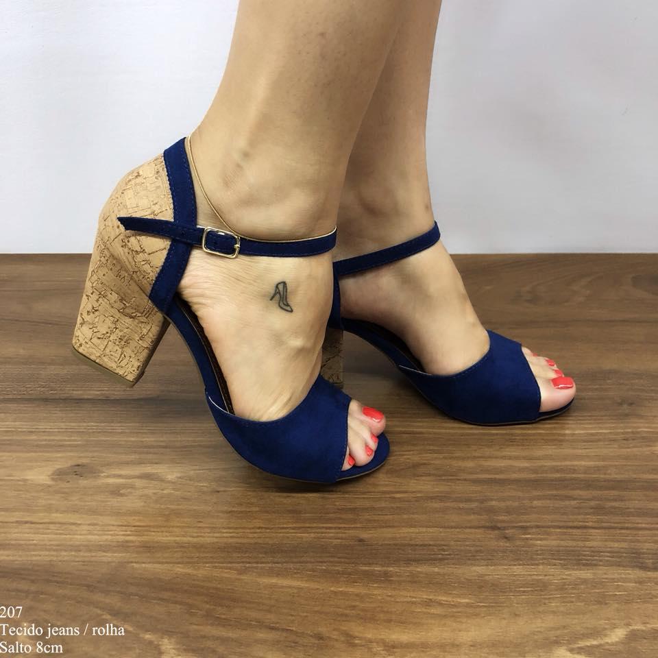 Sandália Azul Alpes